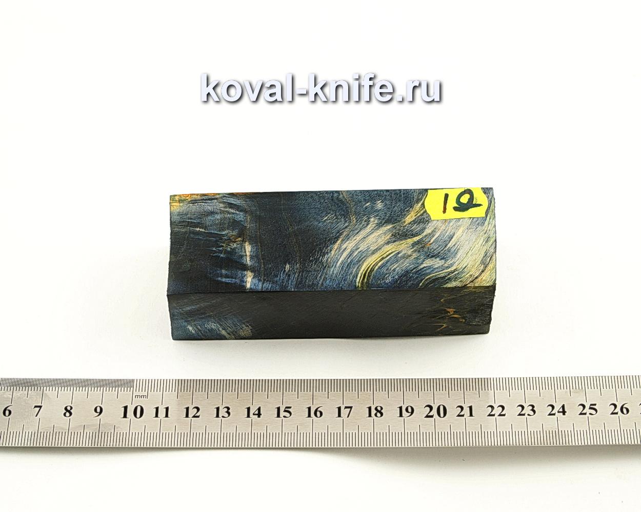 Брусок стабилизированной древесины для ножа N19