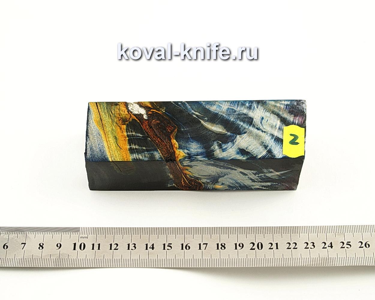 Брусок стабилизированной древесины для ножа N2