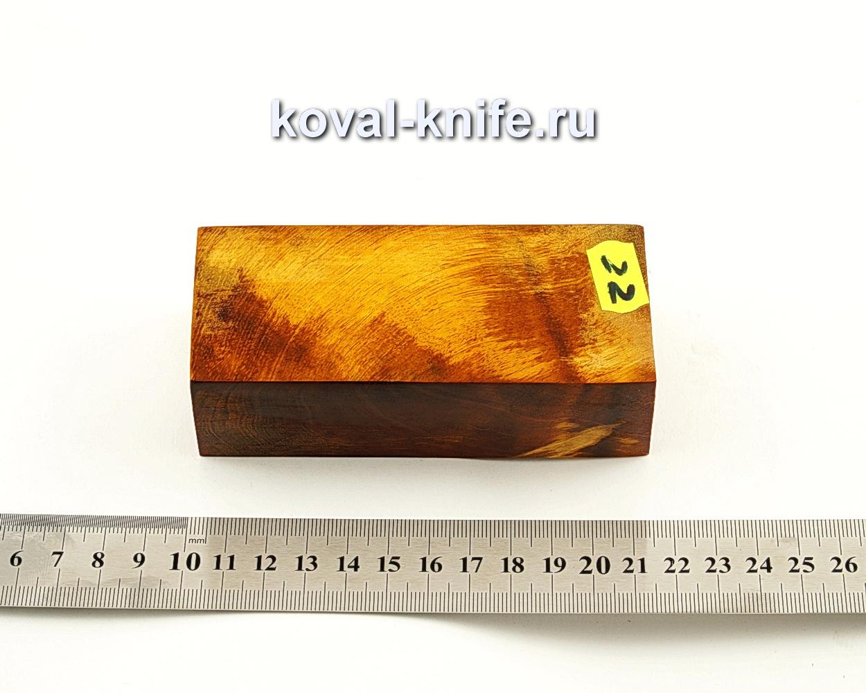 Брусок стабилизированной древесины для ножа N22