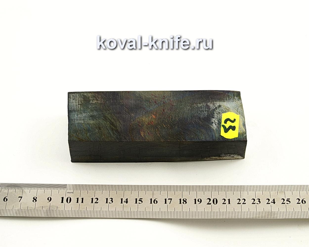 Брусок стабилизированной древесины для ножа N23