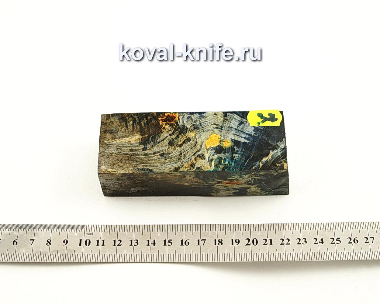 Брусок стабилизированной древесины для ножа N37