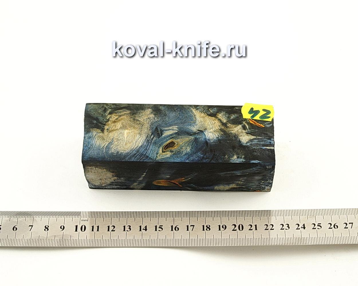 Брусок стабилизированной древесины для ножа N42