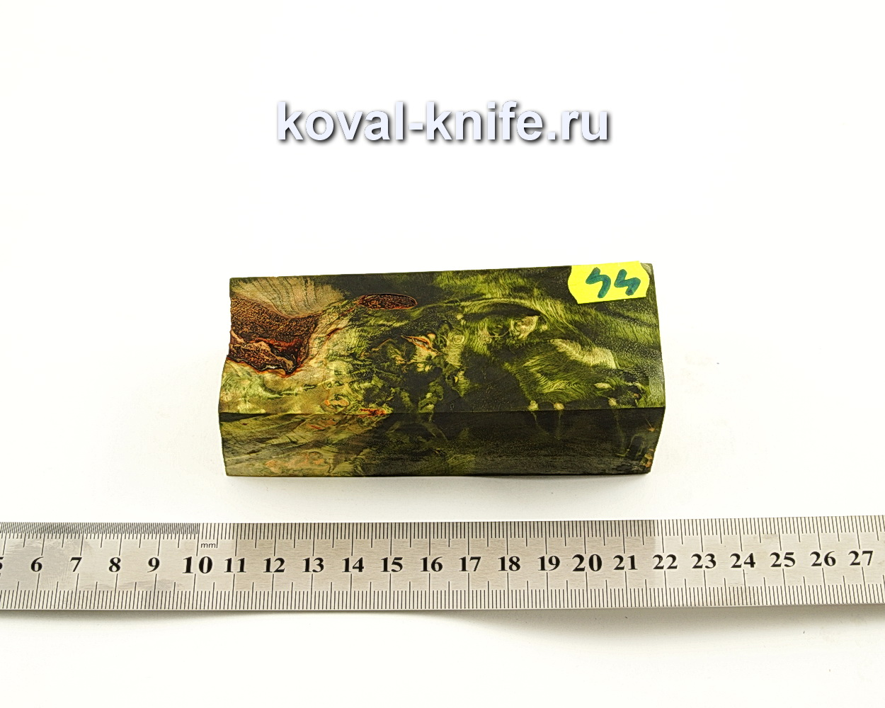 Брусок стабилизированной древесины для ножа N44