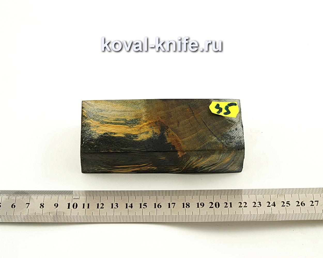 Брусок стабилизированной древесины для ножа N45