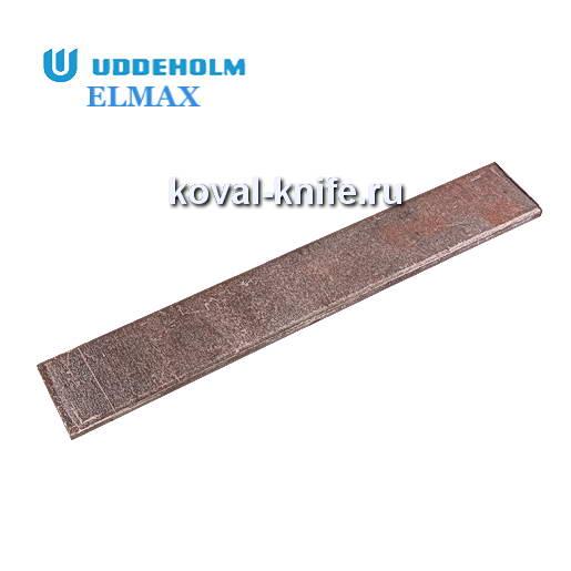 Заготовка для ножа из порошковой стали ELMAX размеры: 300х35х3.7мм.