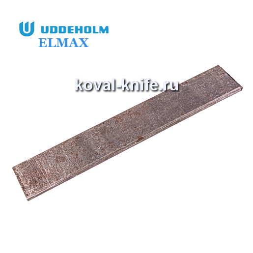 Заготовка для ножа из порошковой стали ELMAX размеры: 250х40х3.7мм.