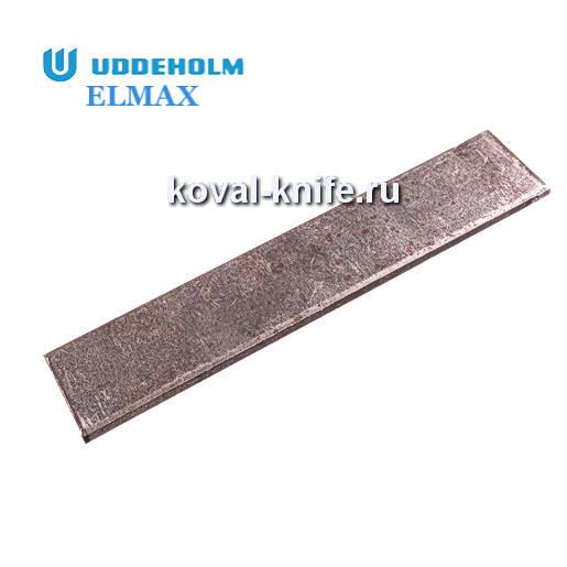 Заготовка для ножа из порошковой стали ELMAX размеры: 300х40х3.7мм.