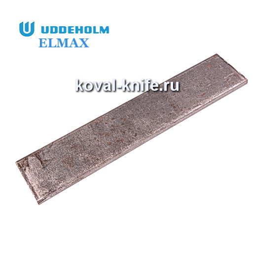 Заготовка для ножа из порошковой стали ELMAX размеры: 200х30х3.7мм.