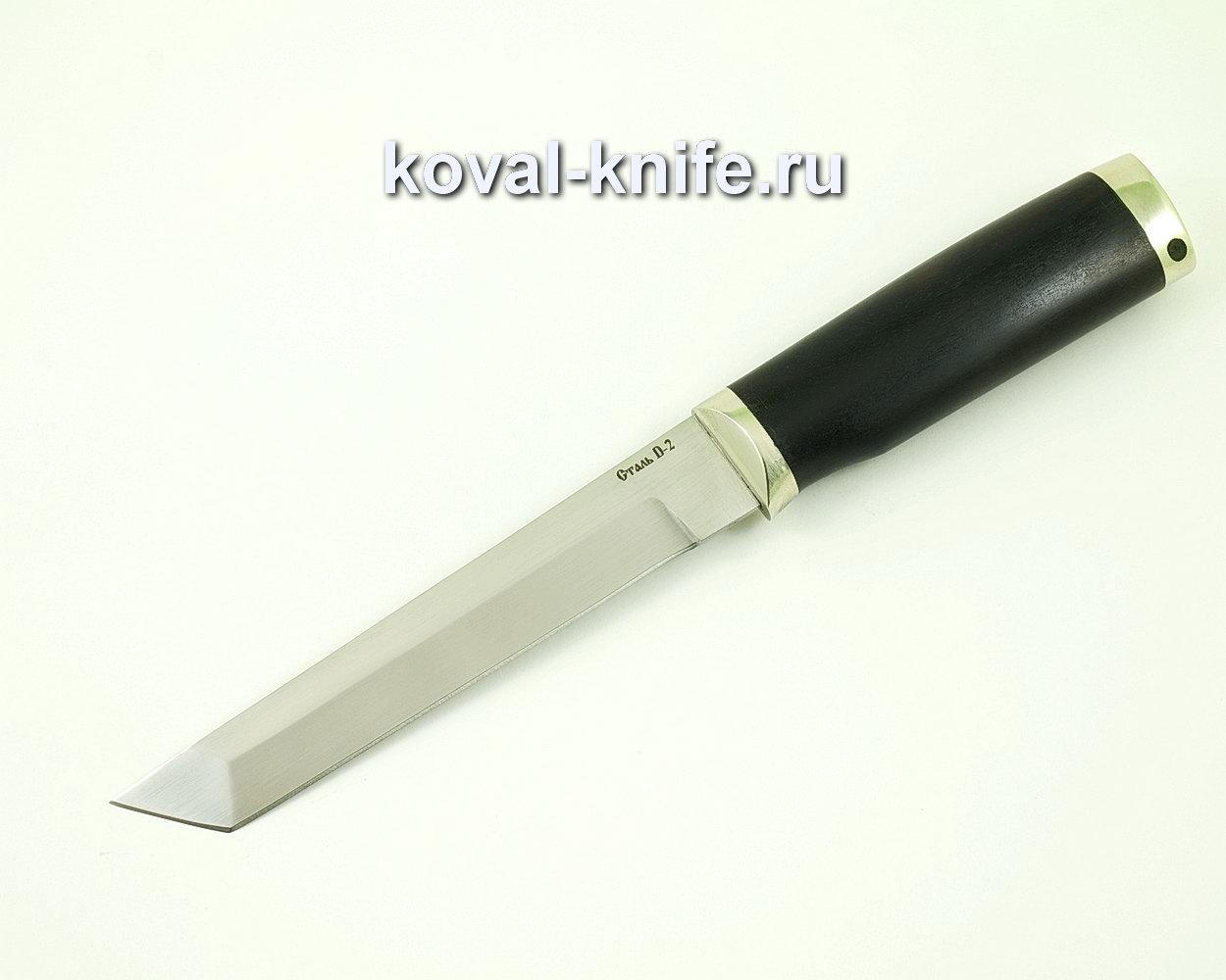 Нож Кобун из стали D2 (Рукоять граб, литье) A418