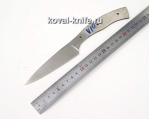 Клинок кухонного ножа из кованой стали 110х18 МШД V10