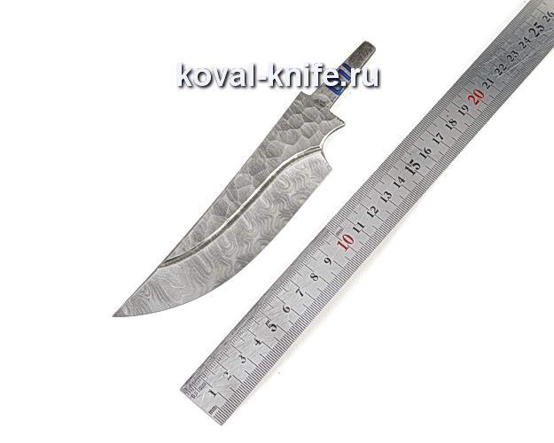 Клинок для охотничьего ножа из дамасской стали d11