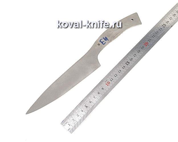 Клинок для кухонного ножа из порошковой стали Elmax e4