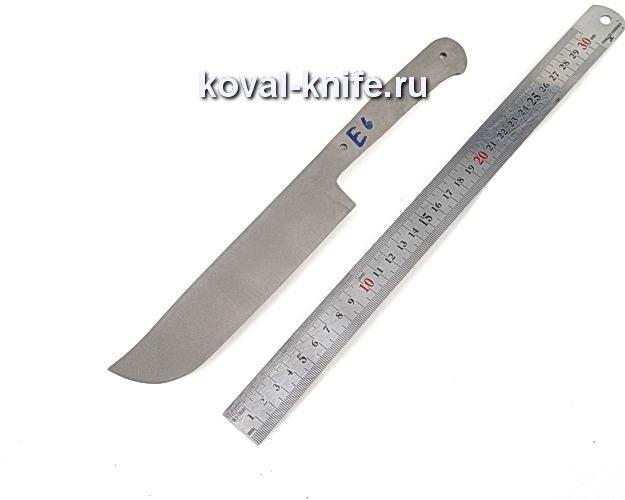 Клинок для кухонного ножа из порошковой стали Elmax e6