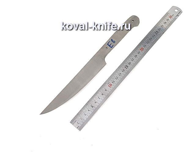 Клинок для кухонного ножа из порошковой стали Elmax e8