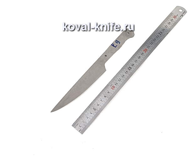 Клинок для кухонного ножа из порошковой стали Elmax e9