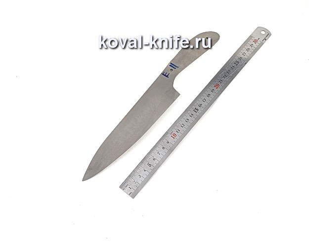 Клинок для кухонного ножа из порошковой стали Elmax e11