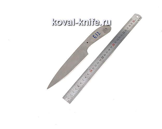 Клинок для кухонного ножа из порошковой стали Elmax e12