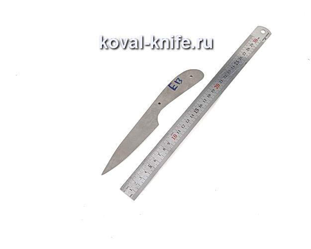Клинок для кухонного ножа из порошковой стали Elmax e13
