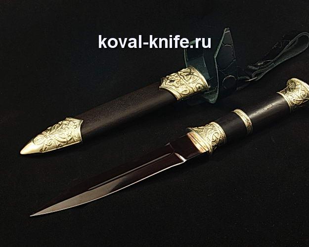 Нож S105 из углеродистого композита в ножнах