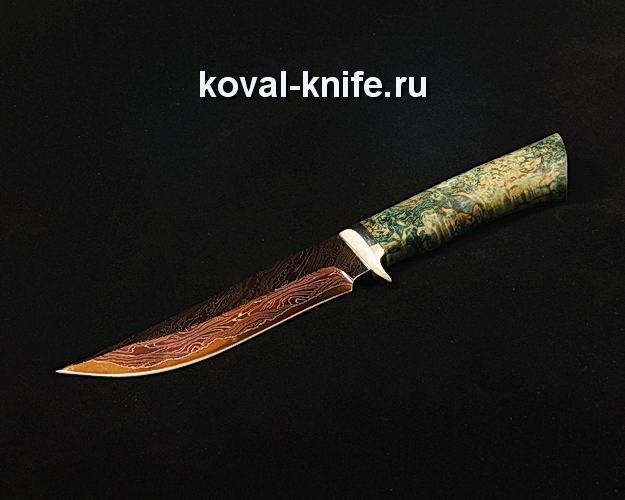 Нож S130 из ламинированной дамасской стали