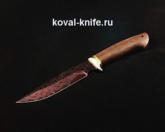 Нож S132 из ламинированной дамасской стали