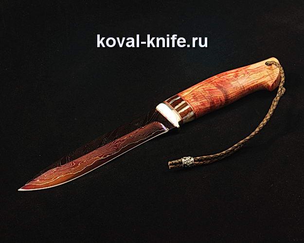 Нож S139 из ламинированной дамасской стали