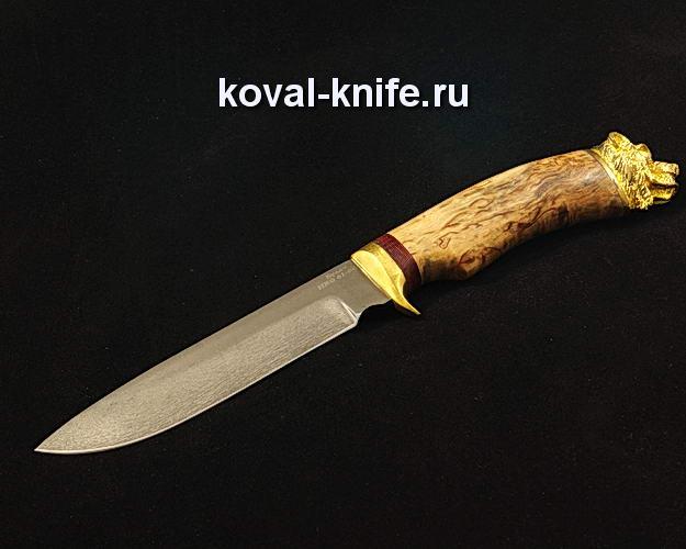 Нож S158 из булатной стали