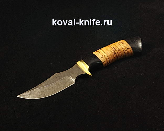Нож S162 из дамасской стали