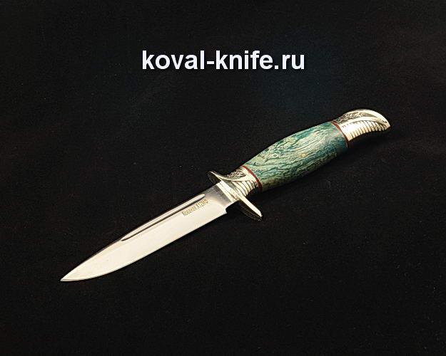 Нож Финка НКВД S183 из кованой стали Х12МФ с авторским литьем