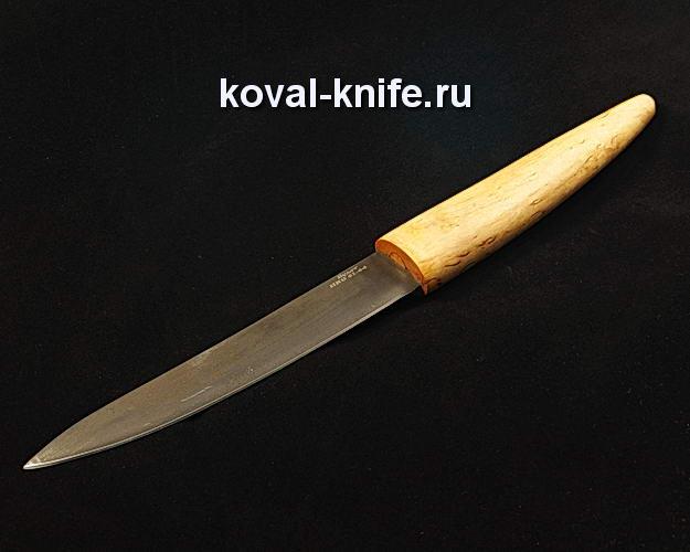 Нож Якутский в деревянных ножнах S189 из булатной стали
