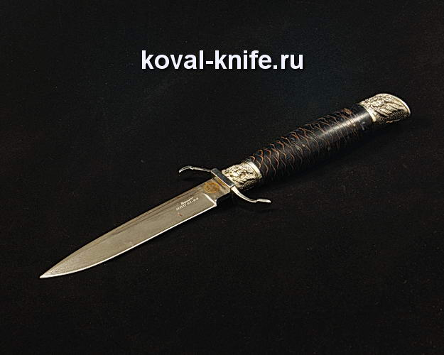 Нож Финка НКВД S193 из булатной стали с авторским литьем