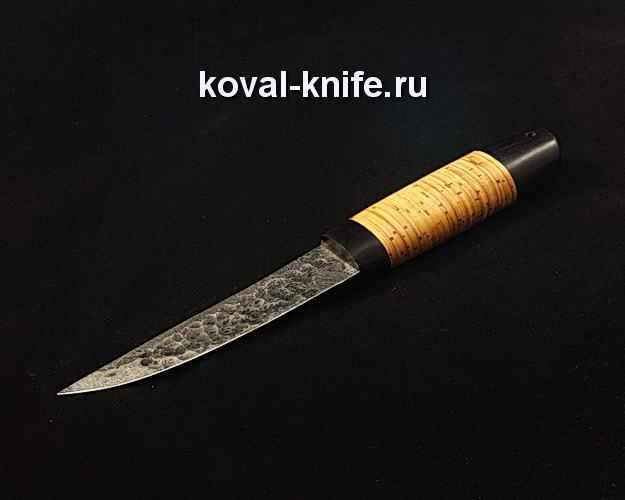 Нож Якут S214 из стали 9ХС ручной ковки