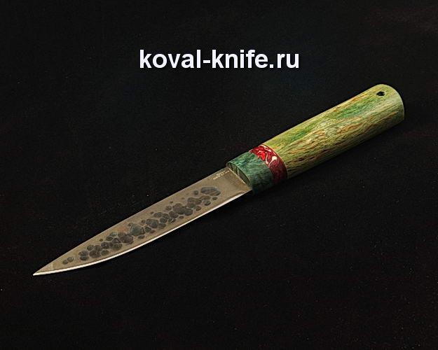 Нож Якутский S232 из булатной стали ручной ковки
