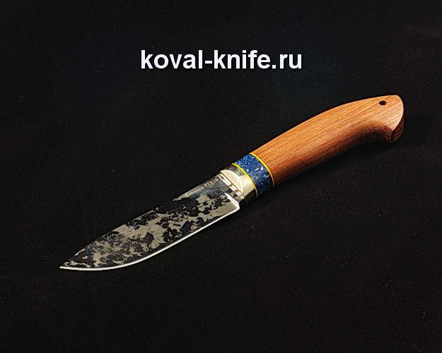 Нож S234 из кованой стали 95Х18 с художественным травлением на клинке