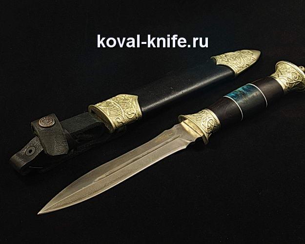 Нож S24 из булатной стали в ножнах