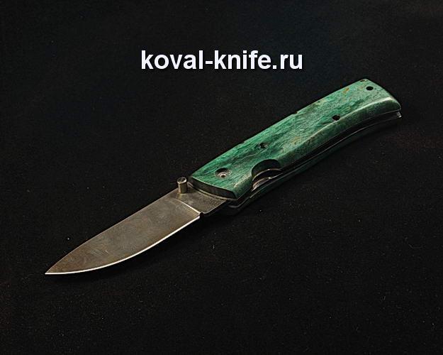 Нож Складной S248 из дамасской стали