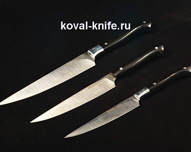 Набор нож ей для кухни S249 из стали 110Х18