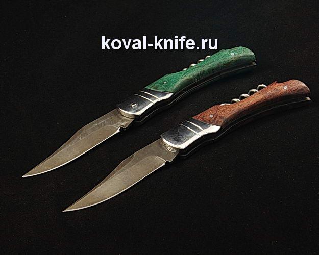 Нож Складной S282 из дамасской стали