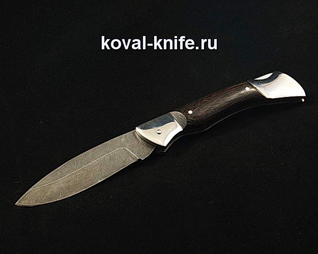 Нож Складной S310 из дамасской стали