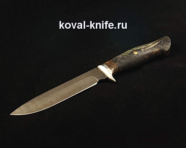 Нож S325 из дамасской стали