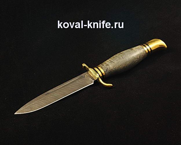 Нож Финка НКВД S338 из дамасской стали