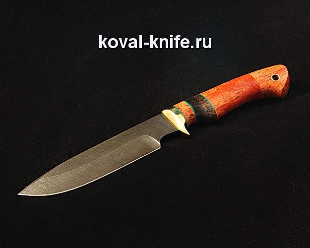 Нож S348 из дамасской стали