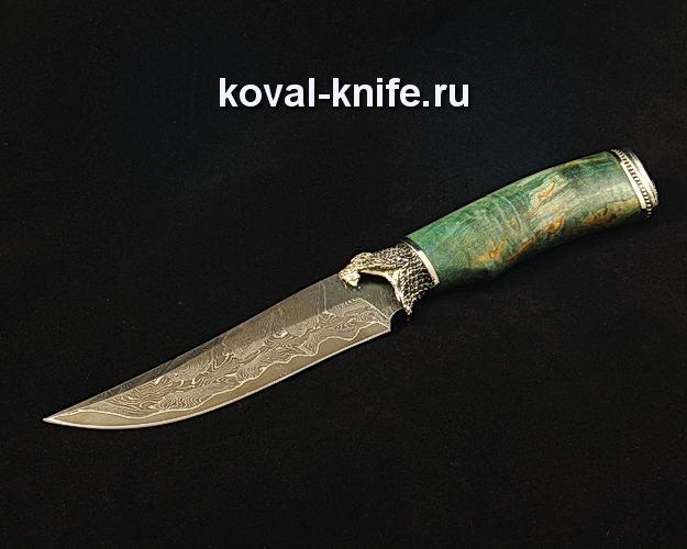 Нож S35 из ламинированной дамасской стали