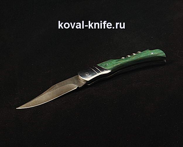 Нож Бабочка S381 из дамасской стали