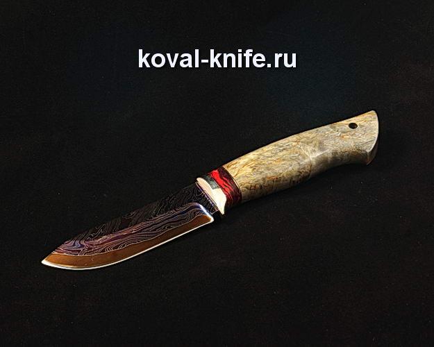Нож S48 из ламинированной дамасской стали