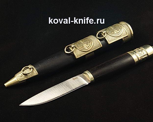 Нож S57 в ножнах из стали 9ХС