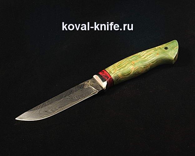 Нож S74 из ламинированной дамасской стали