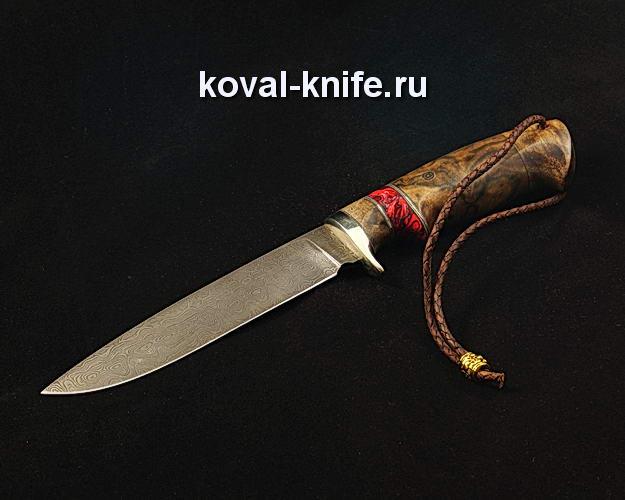 Нож S75 из дамасской стали