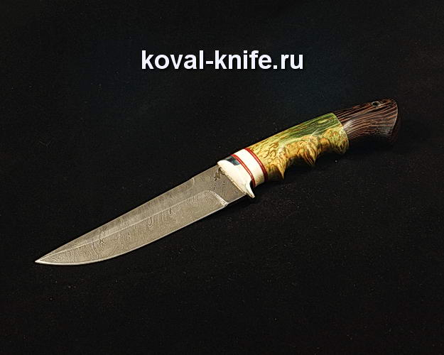 Нож S83 из дамасской стали