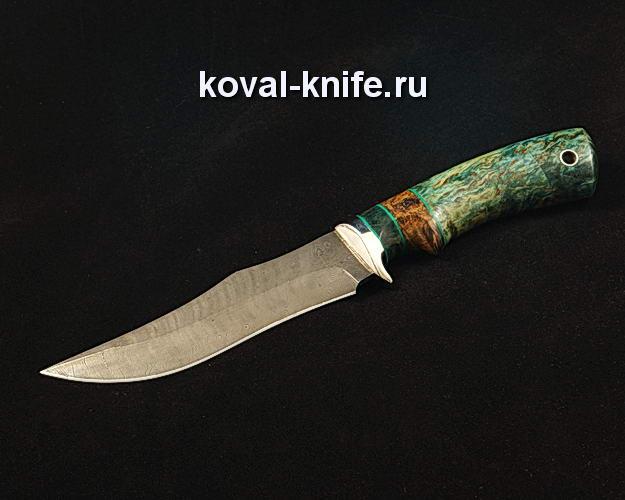Нож S85 из дамасской стали